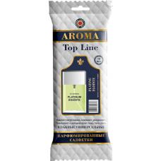 Салфетки влажные парфюмированные AROMA Top Line